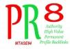 إعطائك 80 موقع PR8 مع كيفية وضع موقعك بها