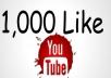اضافة 1000 لايك علي فيديو اليوتيوب الخاص بك سعر الخدمة :5$