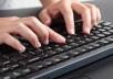 مدخل بيانات  كتابة النصوص والمحتوى على برنامج وورد  تايبست