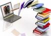 كتابة المقالات والأبحاث باللغة العربية أو الإنجليزية وتصميم ببرنامج فوتوشوب