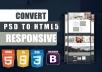تحويل ملف psd ل HTML5
