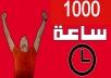 1000 ساعة مشاهدة يوتيوب بأقل الأسعار و خلال يومين فقط