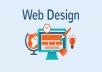 تصميم كامل لموقعك باستخدام . HTML5 amp; CSS3 amp; Bootstrap amp; jQuery