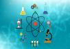 حل مسائل و شرح مواد الكيمياء و الميكروبيولوجي و الكيمياء الحيوي لطلاب المرحلة الجامعية