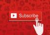 احصل على 600 مشترك على قناتك على اليوتيوب فقط ب