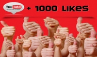 1000 إعجاب حقيقية للفيديو الخاص بك على يوتيوب