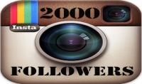 زيادة 2000 متابع عربي  خليجي لحسابك في انستجرام بجودة عالية