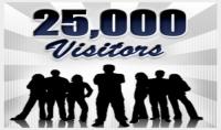 زوار لموقعك او مدونتك 25000 زائر