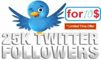 اضافه 10000 متابع اجنبى لحساب تويتر خلال ساعات