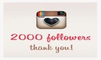 أضافة 2000 متابع لحسابك بالانستغرام باقل من 15 ساعه