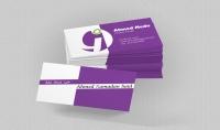 تصميم 2 كارت شخصي   Business card بأحترافية في يوم فقط 5$