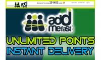 اعطائك ملفات لزيادة نقاط موقع addmefast بسهولة