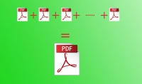 دمج عدة ملفات PDF في ملف واحد