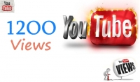 1200 مشاهدة لفديوهاتك على اليوتيوب ب 5 دولار.