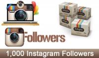اضافة 1000 متابع انستغرام عالي الجودة