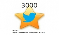 اضافة 1000 اعجاب اجنبي في المفضله لتغريداتك
