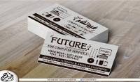 بطاقة اعمال فخمة وراقية لشركتك أو عملك الخاص