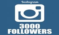 3000 متابع لحسابك انستقرام