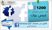 تكبير صفحتك 2500 لايك عربي حقيقي 100%