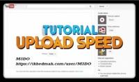 طريقه مجانية لرفع فيديوهات اليوتيوب بسرعة فائقه بدون VPS أو RDB
