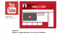 صورة عاليه الجوده لغلاف قناتك علي يوتيوب