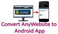 بتحويل موقعك او مدونتك الى برنامج اندرويد باحترافية عالية