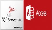 تصميم قاعدة بيانات MS Sql server   MS Access
