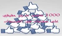 جلب 1000 معجب حقيقي على صفحتك الفيسبوك