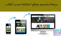 برمجة و تصميم مواقع احترافية حسب الطلب ...