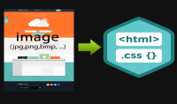 PSD IMAGE to HTML CSS