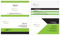 تصميم بطاقة أعمال متميزة خاصة بك