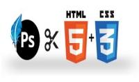 تحويل تصميمك الخاص PSD الي CSS amp;HTML باحترافيه