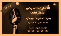 التعليق الصوتى الاحترافى لكافة المواد الصوتية بالعربية والانجليزية Voice over