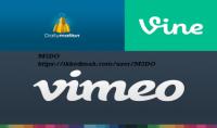 جميع خدمات موقع الفيديوهات فاين vine فيميو viemo ديلي موشن dailymotion