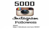 إضافة 5000 متابع انستغرام اجنبي