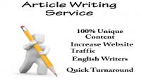 كتابة 4 مقالات إنجليزية حصرية في المجال الذي تريده ١٠٠٪ أصلي.