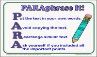 إعادة صياغة الأبحاث الإنجليزية بشكل إحترافي   Research Paraphrasing
