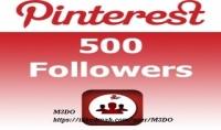 500 متابع بنترست pinterest