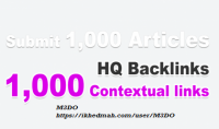 اضافة 1000 مقال يحتوي علي كلماتك المفتاحية مع رابط باك لينك