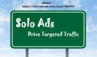 كوبون لتقوم باعلان سولو solo ads الي 600000 شخص مستهدف مجانا