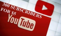 300 مشترك على قناتك باليوتيوب عرب او اجانب باختيارك