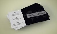 تصميم بطاقة مميزة لك للاعمال جاهزة للطباعة