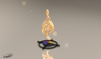 صناعة شعار لشركتك باسلوب ثلاثي الابعاد 3D حقيقي