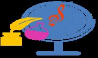 تصميم شعار بخلفية شفافة
