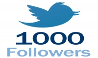 سأمنحك 1000  متابع في تويتر
