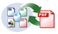 تحويل الملفات إلى صيغ pdf