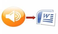 التفريغ الصوتي للملفات الصوتية والفيديوية الي PDF او الوورد