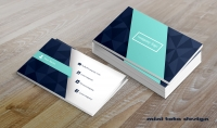 تصميم بطاقة أعمال business card بطرق احترافية فقط ب5$