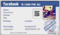 انشاء فيسبوك بجميع متطلباته مع انشاء بطاقة فيسبوك