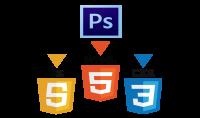 تحول من PSD الى قالب HTML  amp; CSS  amp; Js